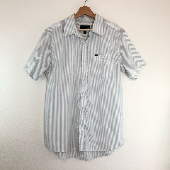 Hurley Other - Hurley Men's Shirt Top Short Sleeve Button Down